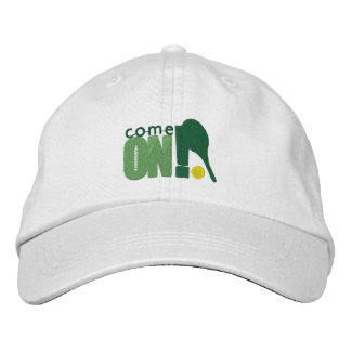 Cap Eats On! Tennis Embroidered Cap