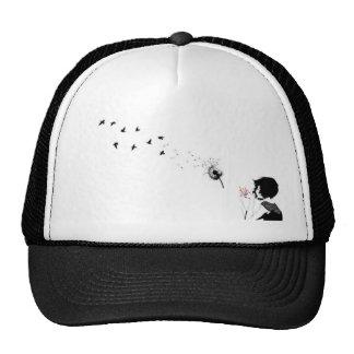 Cap feminine visor straight line
