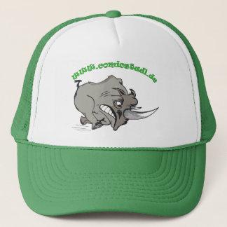 Cap furious rhinoceros