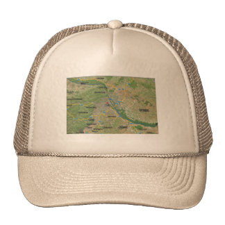 Cap hybrid picture Vienna and environment Trucker Hat