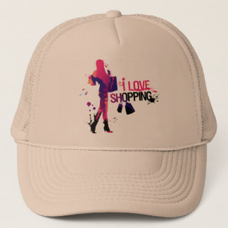 "Cap ""I Love Shopping """