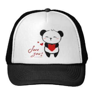 "Cap ""Love You Panda """