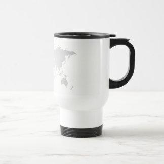 cap map world travel mug