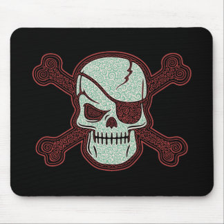 Cap n Curly III Mouse Pads