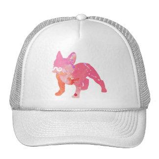 Cap of lady, cap fashion, French bulldog