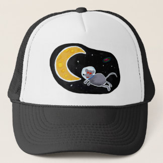 Cap of Truck driver - Mouse In Space