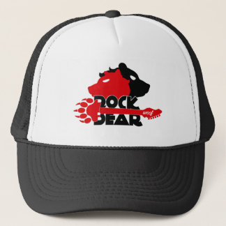 Cap of Truck driver Rock Bear Woof