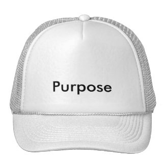 CAP purpose