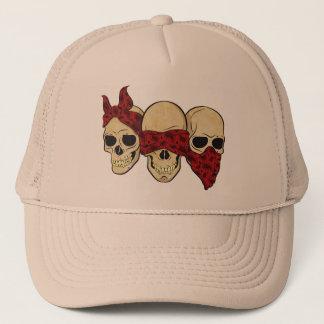 """Cap """"Skull (deaf, blind, dumb) """""""