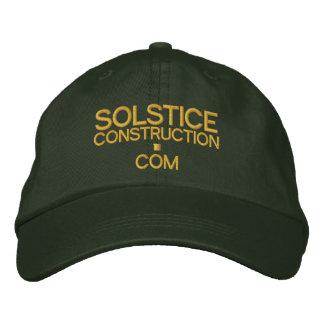 Cap - SOLSTICECONSTRUCTION.com Embroidered Baseball Caps