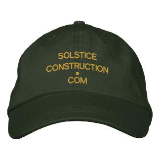 Cap - SOLSTICECONSTRUCTION com Embroidered Baseball Cap