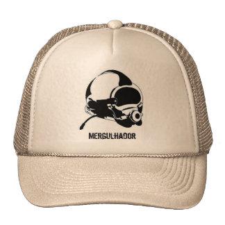 Cap superlight black hat