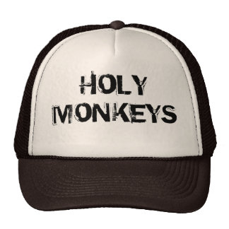 Cap to trucker Holy Monkeys Trucker Hats