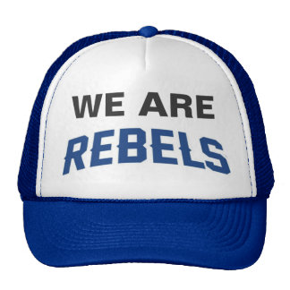 Cap - WE Are REBELS