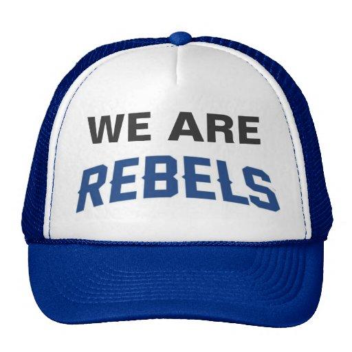 Cap - WE Are REBELS Mesh Hats