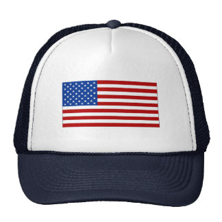 Cap with American Flag Image