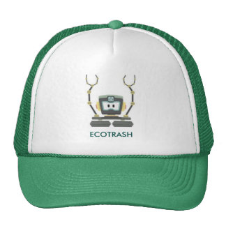 cap with ecological design, ecotrash