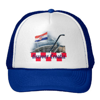 cap with text: discover Croatia