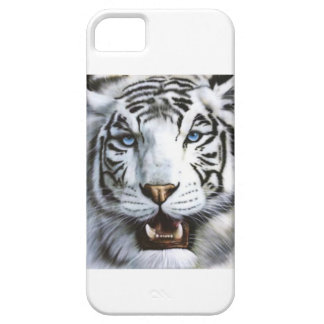 Capa personalizada de tigre branco capa iPhone 5 Case-Mate