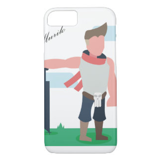 CapaCell-WarriorBoy iPhone 8/7 Case