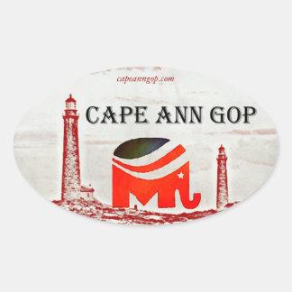 Cape Ann GOP sticker