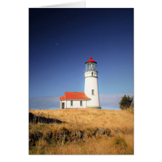 Cape Blanco State Park Lighthouse notecard