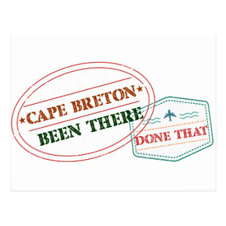 Cape Breton Been there done that Postcard