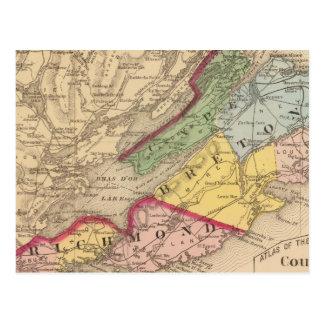 Cape Breton, Richmond counties, NS Postcard