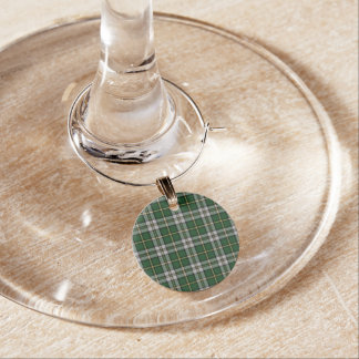 Cape Breton Tartan Christmas Wine Charms
