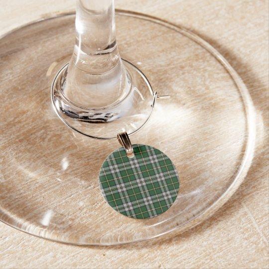 Cape Breton Tartan Christmas Wine Charms