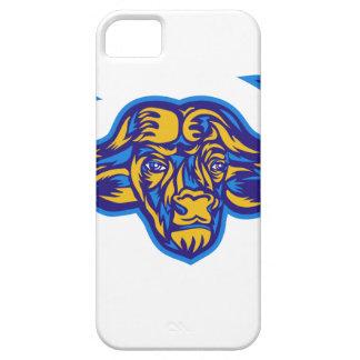 Cape Buffalo Head Retro iPhone 5 Cover