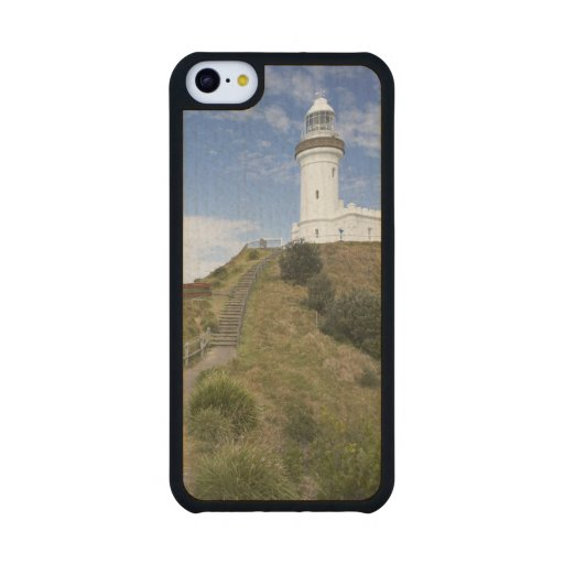 Cape Byron Lighthouse, Cape Byron (Australia's 2 Carved® Maple iPhone 5C Slim Case