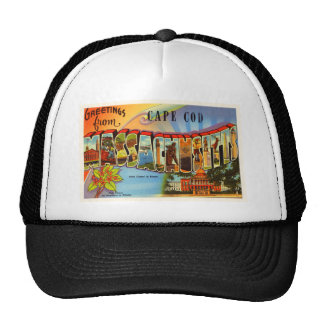 Cape Cod #2 Massachusetts MA Old Travel Souvenir Cap