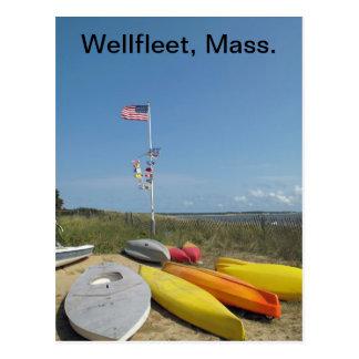 Cape Cod Boatyard Postcard