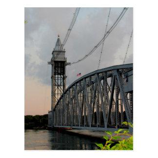 Cape Cod Canal Bridge Postcard