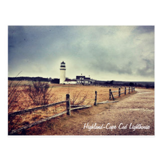 Cape Cod (Highland) Lighthouse Postcard