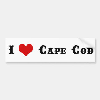 Cape Cod MA Bumper Sticker