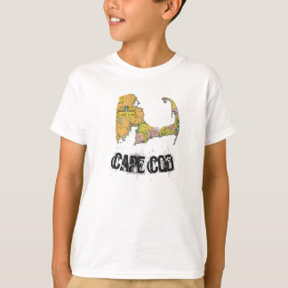 Cape Cod Map Boy's Shirt