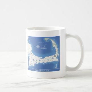 Cape Cod Map Coffee Mug