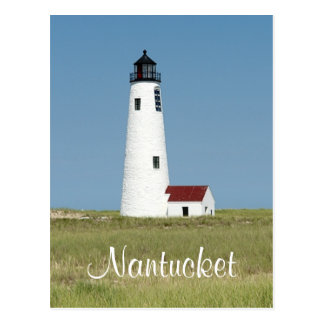 Cape Cod Mass Nantucket  Lighthouse Post Card
