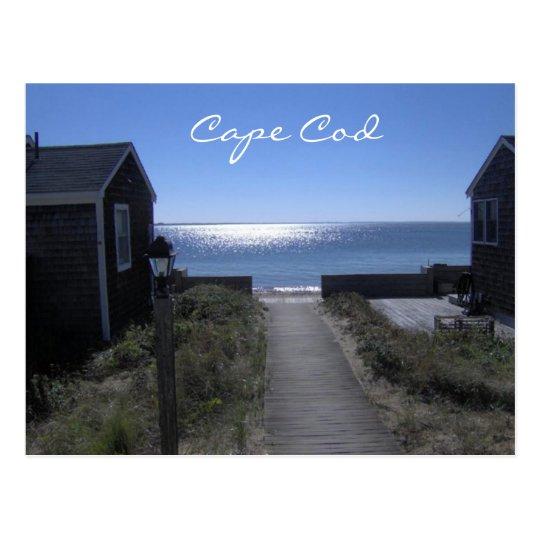 Cape Cod Massachusetts at Dusk Postcard