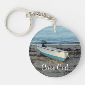 Cape Cod Massachusetts Beach Keychain