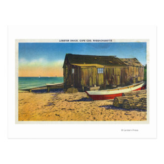 Cape Cod, MassachusettsView of a Lobster Shack Postcard
