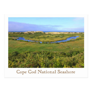 Cape Cod National Seashore Pilgrim Heights Postcard