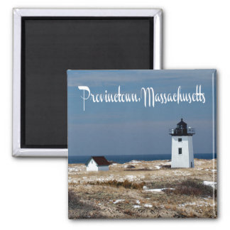 Cape Cod, Provincetown Massachusetts Lighthouse Magnet