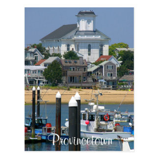 Cape Cod Provincetown Massachusetts Post Card