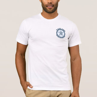 "Cape Cod ""Sand Dollar"" Design. T-Shirt"