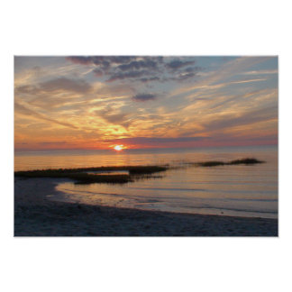 Cape Cod Sunset Poster