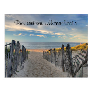 Cape Cod Sunset Provincetown, MA  Beach  Post Card