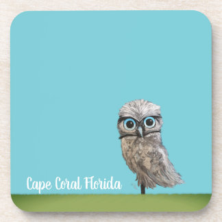 Cape Coral Burrowing Owl Coaster